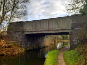 """Pelsall Old Railway Bridge"" - This bridge used to carry the old Walsall to Lichfield South Staffordshire Railway Line."