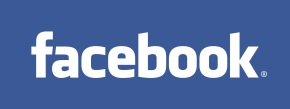 Instantly recognisable Facebook Logo! The big give away is the fact that is spells Facebook!