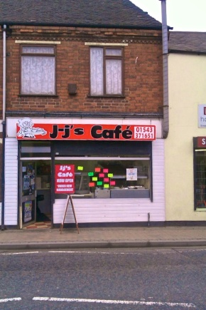 JJ's Cafe - Brownhills High Street - New Signs have now been installed - 30/03/12