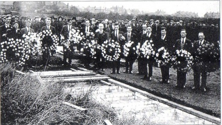 Grove Colliery Graves Old