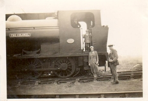 """""""The Colonel"""" Steam Locomotive - Image courtesy of Godfrey the OakParkRunner."""