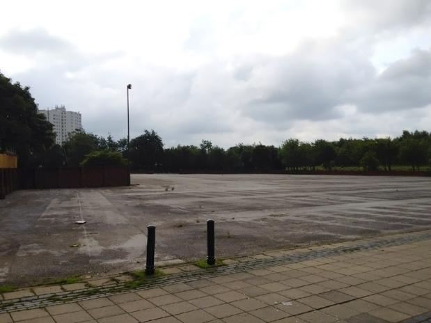 Brownhills Market in 2012 - Gone but not forgotten.