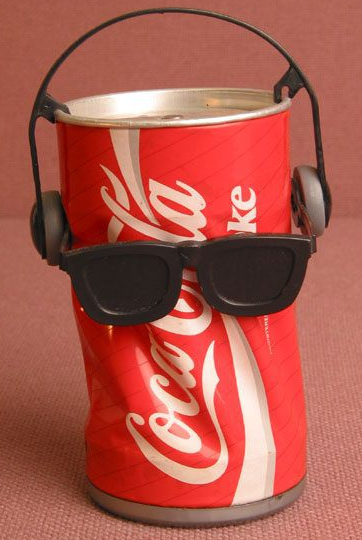Dancing Coca Cola Coke Can