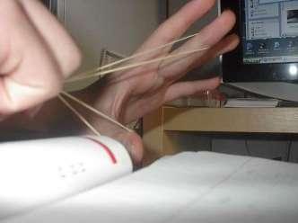 Paper dart pellet rubber band 2