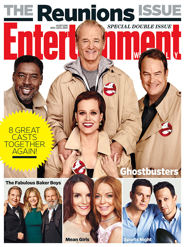 Entertainment Weekly Reunions_Ghostbusters